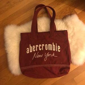 A&F canvas bag